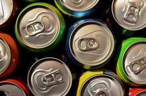 cans of soft drink