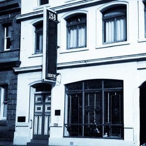 Front of 158 Collins Street Hobart