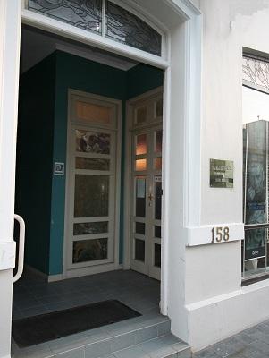 Front door to Collins Dental Centre